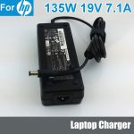 Laptop charger HP 19V 7.1A 135W (Compaq,Presario,EVO,Pavilion,Prosignia,Armada,NX business)-7.4 X 5.1mm