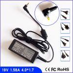 Strāvas adapters klēpjdatoram HP 19V 1.58A 30W (HP,Compaq,mini,NQ,NL,NJ,NG,NE,NR)-4.0 X1.7mm