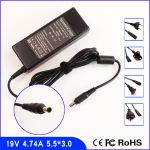 Laptop charger SAMSUNG 19V 4.74A 90W (X,V,T,P,A)-5.5 X 3.0mm