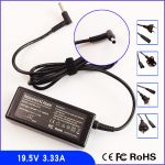 Adapter for HP 19.5V 3.33A 65W (EVO,sleekbook,ultrabook)-4.8 X1.7mm